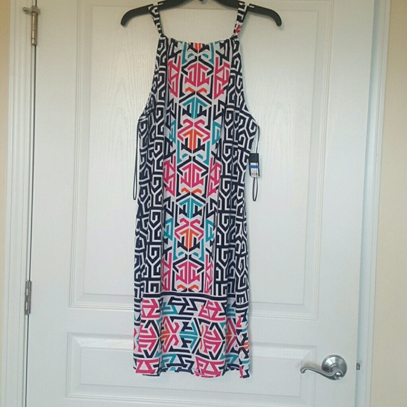 crown & ivy Dresses & Skirts - New w/tag multi color dress very soft.